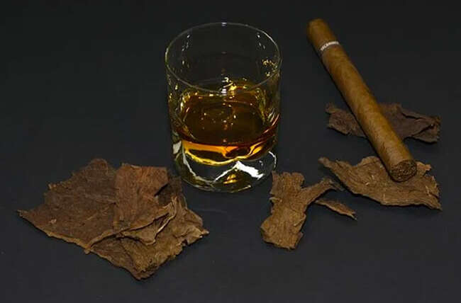 Did you know alcohol and tobaccos can damage oral health